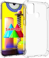 iMoshion Shockproof Case Samsung Galaxy M31 hoesje - Transparant