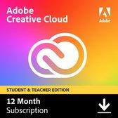 Adobe Creative Cloud Student & Docent - 1 Apparaat - 1 Jaar - Nederlands - Windows / Mac Download