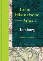 Boek cover Historische provincie atlassen - Grote Historische Topografische Atlas Limburg van Piet van den Munckhof