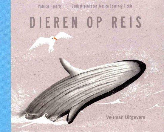 Boek cover Dieren op reis van Patricia Hegarty (Hardcover)