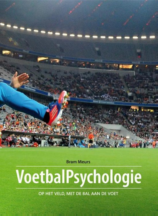 Boek cover Voetbalpsychologie van Bram Meurs (Paperback)