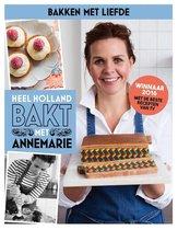 Boek cover Heel Holland Bakt met Annemarie van Annemarie Pronk (Hardcover)
