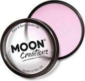 Moon Creations Schmink Pro Face Paint Cake Pots 36 Gram Lichtroze