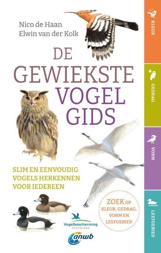 Boek cover De gewiekste vogelgids van Nico de Haan (Paperback)