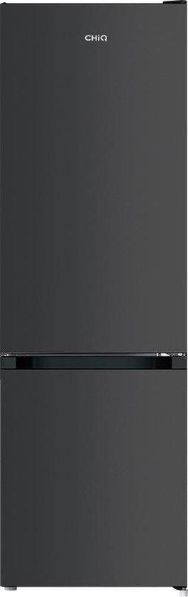 Koelkast: CHiQ FBM260L - Koel-vriescombinatie 260 liter (187 + 73) - Donker RVS - Omkeerbare deuren, van het merk chiq