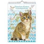 Franciens Katten Verjaardagskalender - Miepje (A4)