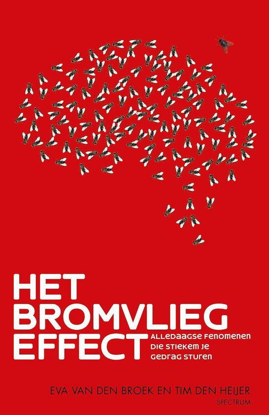 Boek cover Het bromvliegeffect van Eva van den Broek (Paperback)