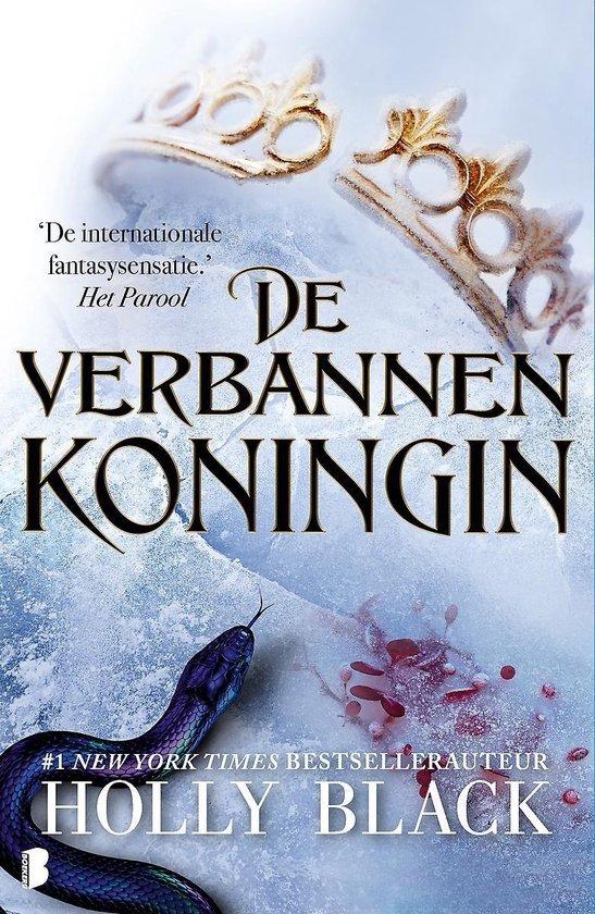 Boek cover Elfhame 3 -   De verbannen koningin van Holly Black (Hardcover)