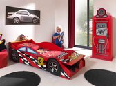 Vipack autobed - Kinderbed - 78x175cm