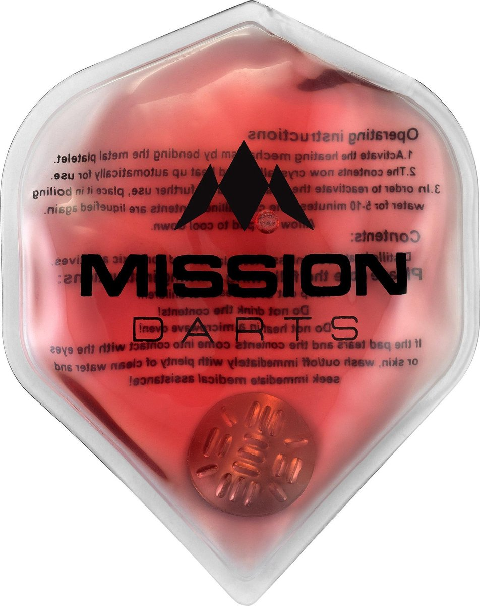 Mission Flux Luxury Hand Warmer - Herbruikbaar - Red