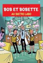 Boek cover 349 Au bistro Labo van Willy Vandersteen