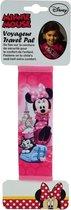 Pluche Minnie Mouse auto gordelhoes/gordelbeschermer 19 cm voor kids - Gordelkussen - Gordelbeschermhoezen - Auto accessoires