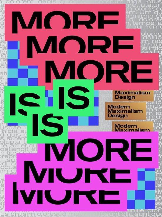 Boek cover MORE IS MORE van  (Paperback)