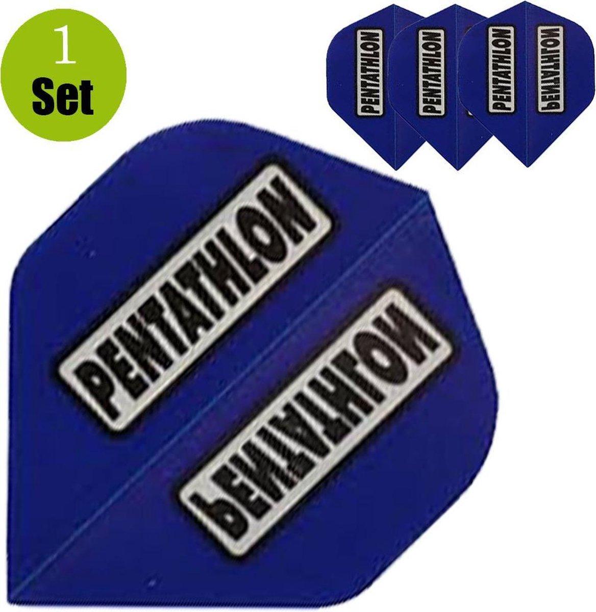 Pentathlon Dartflights - Blauw- ()