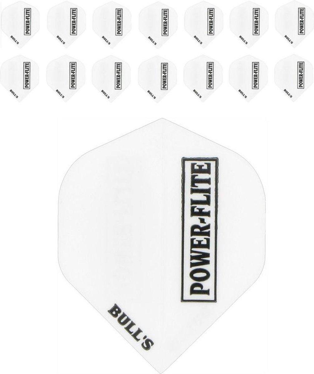Powerflights Dartflights - Wit- (5 Sets)