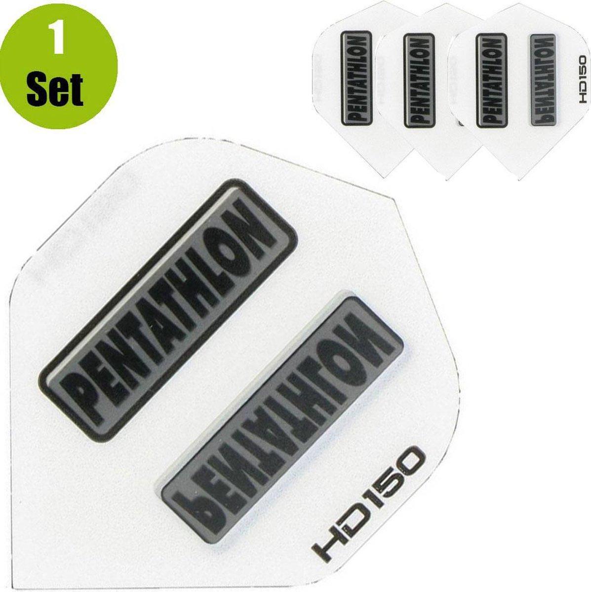Pentathlon HD150 Dartflights - Wit- ()