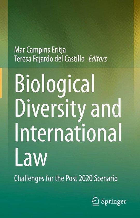 Omslag van Biological Diversity and International Law