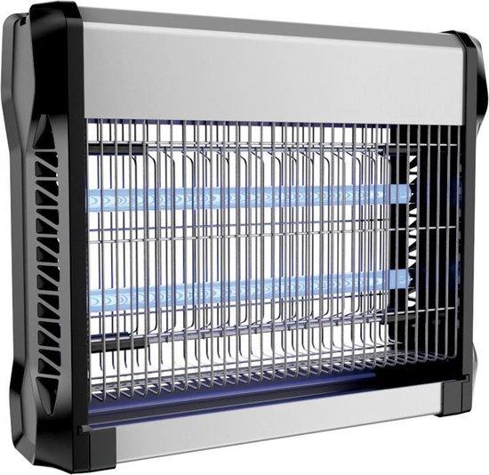 V-tac VT-3216 Insectenlamp - 2*8W - 50m bereik - UV licht - Grijs