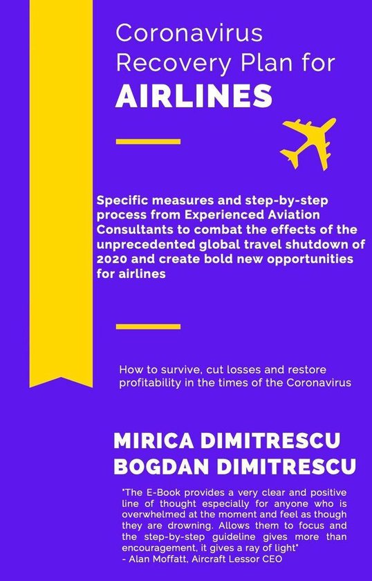 Coronavirus Recovery Plan for Airlines