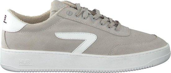 HUB Heren Lage sneakers Baseline-m - Grijs - Maat 44