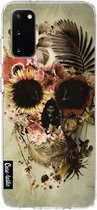 Samsung Galaxy S20 hoesje Garden Skull Light Casetastic Smartphone Hoesje softcover case