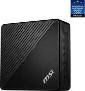 MSI Cubi 5 10M-045EU - Intel Core i5 (10th gen) - 8GB - 256 GB SSD - Mini PC - Zwart