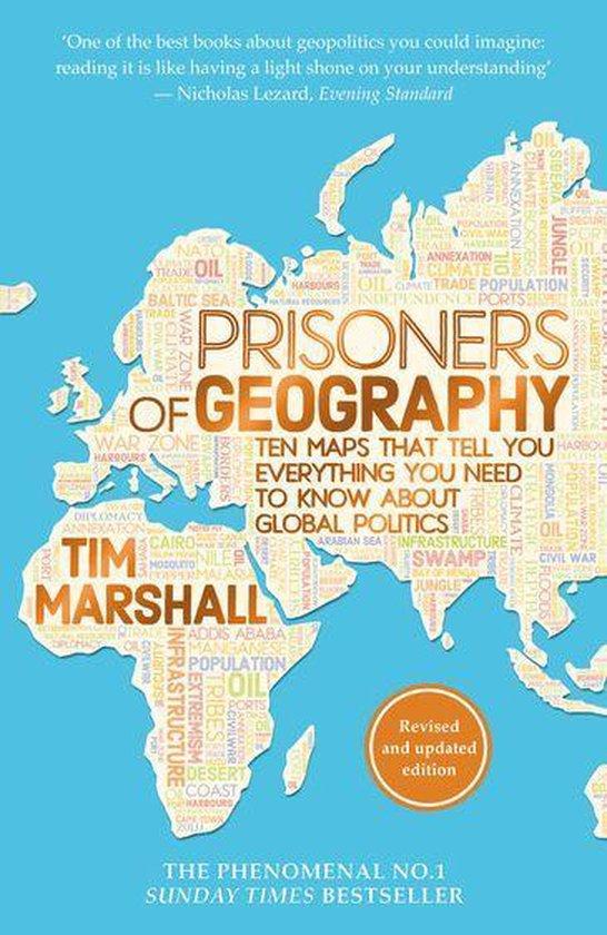 Boek cover Prisoners of Geography van Tim Marshall (Onbekend)