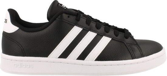 adidas Grand Court Heren Sneakers - Core Black/Ftwr White/Ftwr White - Maat 44.5