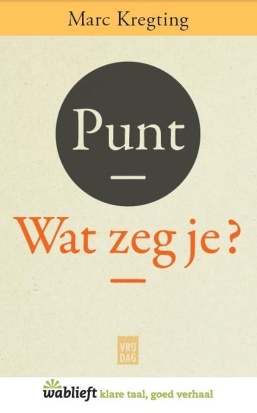Punt - Marc Kregting  