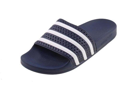 adidas Adilette Heren Slippers - Adiblue/White/Adi Blue ...