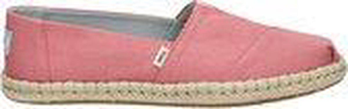TOMS Alpargata Rope Plant Dye Dames Espadrille - Pink - Maat 36 Espadrilles