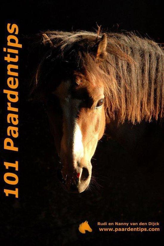 Cover van het boek '101 Paardentips' van Rudi van den Dijck