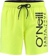 O'Neill Zwembroek Original Cali Swim Shorts - Geel Groen - Xl