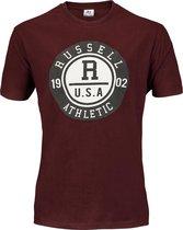 Russell Athletic Men SS Crewneck Tee Heren T-shirt XL