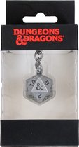 Difuzed Dungeons & Dragons Metal Keychain Dice 3D