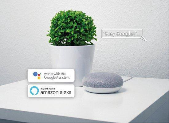 Apaga Smart Spot - Slimme LED Lamp - Werkt met Google Home en Amazon Alexa - Warm tot koud LED lights – Dimbaar - Slimme spotjes - (LED verlichting, E27, 5W, WiFi)