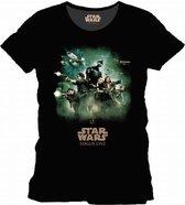 Star Wars Rogue One - Poster Men T-Shirt - Black - S