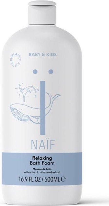 Naïf Natuurlijke badschuim - voor baby en kind - 500ml