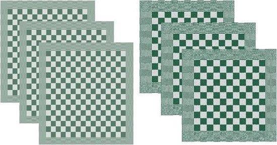 DDDDD Keukendoeken En Theedoeken Set Barbeque Green (3+3 stuks)
