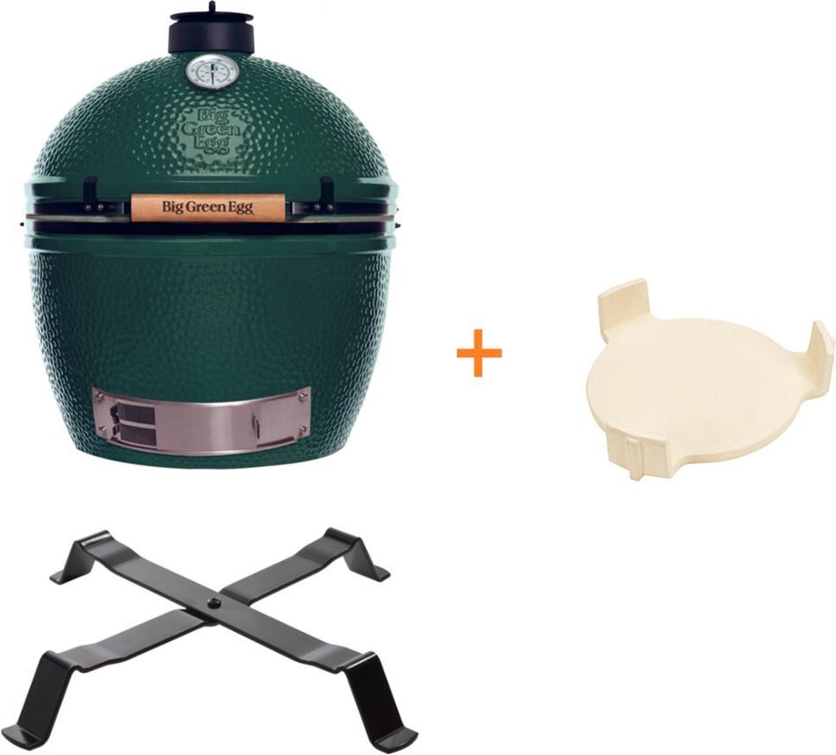 Big Green Egg XLarge met Table Nest