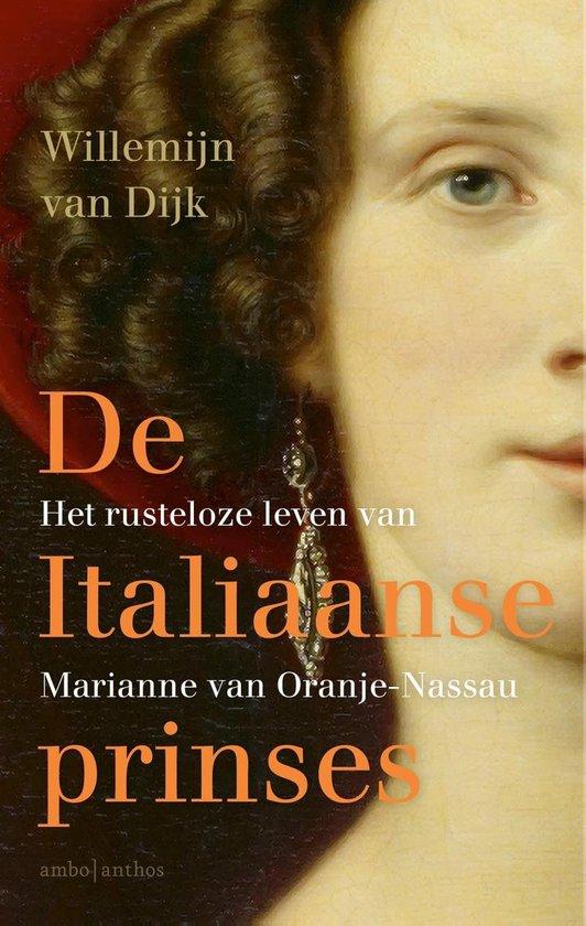 Boek cover De Italiaanse prinses van Willemijn van Dijk (Onbekend)