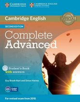 Complete Adv - second edition student's book with answers +