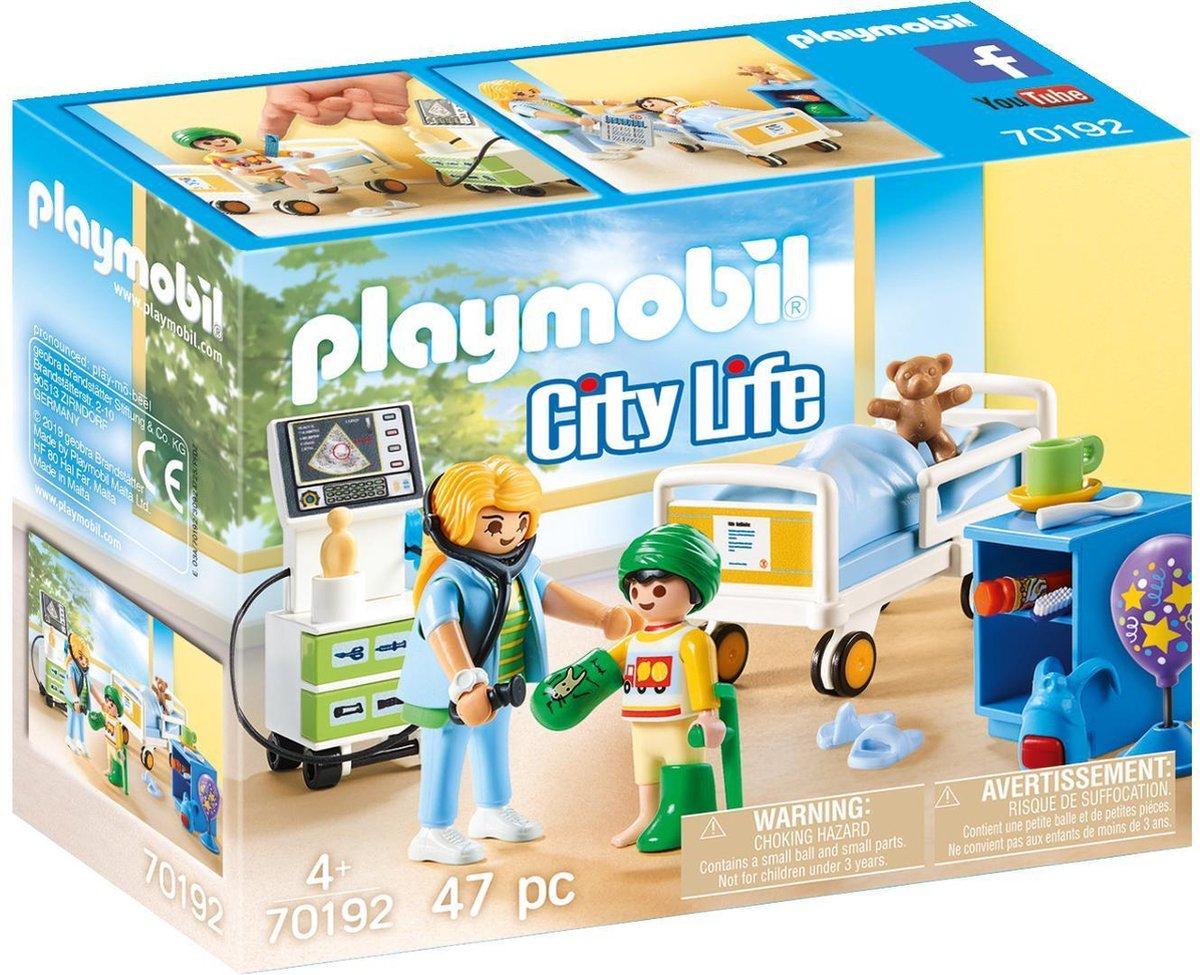 PLAYMOBIL City Life Kinderziekenhuiskamer - 70192