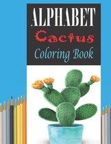 Alphabet Cactus Coloring Book