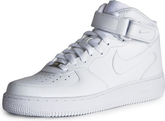 Nike Air Force 1 '07 Mid Sneakers - Maat 38 - Vrouwen - wit