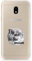 Samsung Galaxy J3 (2017) Hoesje Fly me to te Moon