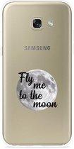 Galaxy A3 (2017) Hoesje Fly me to te Moon
