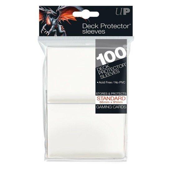 Afbeelding van het spel Ultra Pro Standard Sleeves White Solid 100