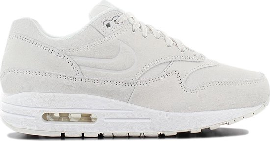 nike air max 1 leather premium grijs