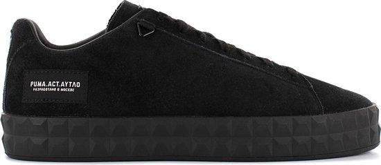 Puma Court Platform x OUTLAW MOSCOW - LIMITED EDITION - 367097-01 Heren Sneaker Sportschoenen Schoenen Zwart - Maat EU 40.5 UK 7